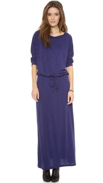 Lanston Boyfriend Maxi Dress - Navy at Shopbop / East Dane