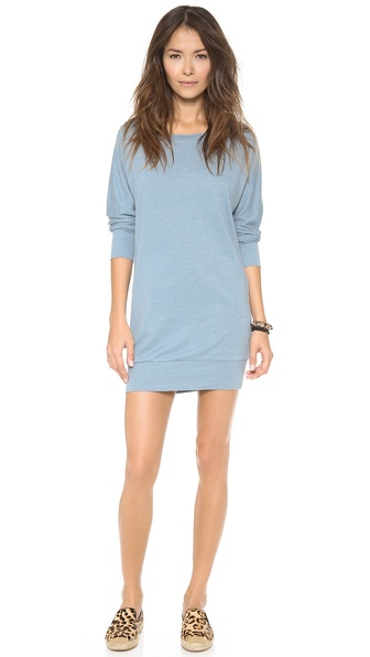 Lanston Boyfriend Mini Dress - Aquatic at Shopbop / East Dane