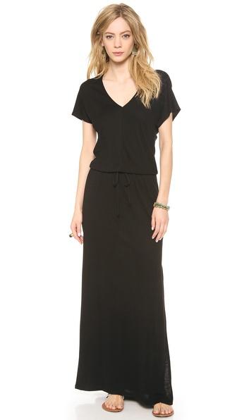 Lanston V Neck Maxi Dress - Black at Shopbop / East Dane