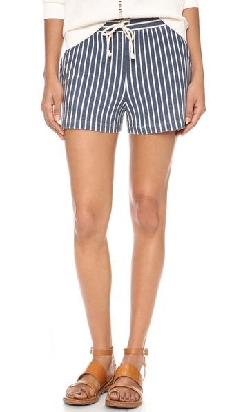 Lanston Striped Shorts - Stripe at Shopbop / East Dane