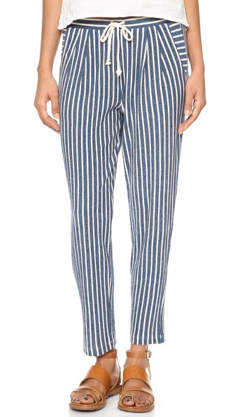 Lanston Striped Bf Pants - Stripe at Shopbop / East Dane