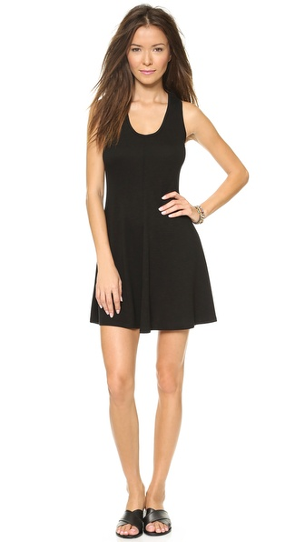 Lanston Racer Back Mini Dress - Black at Shopbop / East Dane