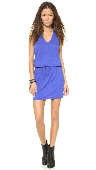 Lanston V Neck Racer Back Dress - Cobalt at Shopbop / East Dane