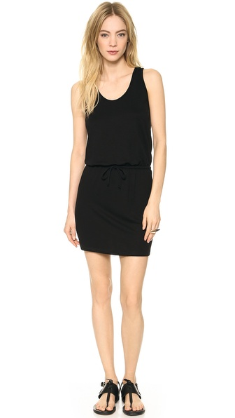 Lanston Cutout Racer Back Mini Dress - Black at Shopbop / East Dane