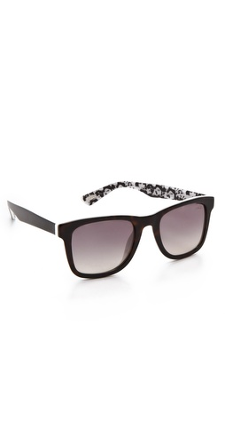 Lanvin Square Frame Sunglasses at Shopbop / East Dane