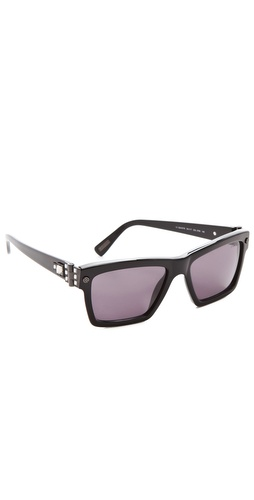 Lanvin Square Sunglasses with Swarovski Crystals at Shopbop.com