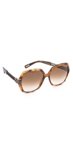 Lanvin Mesh Butterfly Sunglasses at Shopbop / East Dane