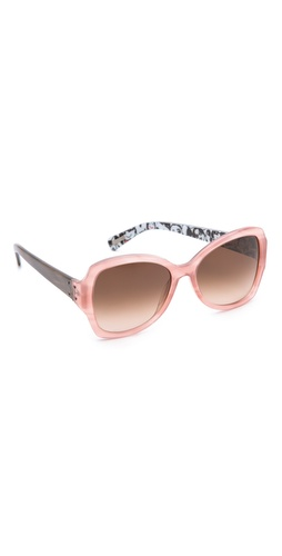 Lanvin Butterfly Cartoon Sunglasses at Shopbop / East Dane