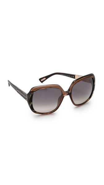 Lanvin Classic Gradient Sunglasses - Brown/Gradient Smoke at Shopbop / East Dane
