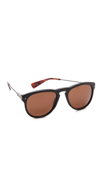 Lanvin Classic Sunglasses - Black/Brown at Shopbop