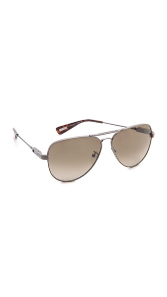 Lanvin Aviator Sunglasses - Bronze/Gradient Brown at Shopbop