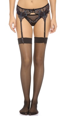 L'Agent by Agent Provocateur Maribel Lace Garter Belt