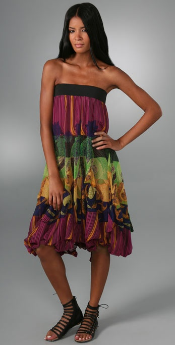 LaROK LUXE Hot Tropics Long Dress / Skirt
