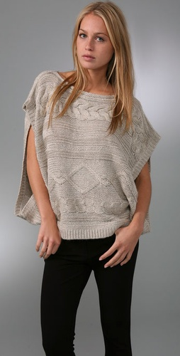 LaROK LUXE Jillian Poncho Top