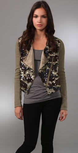 LaROK LUXE Flirty Camo Jacket