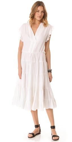 LA't by L'AGENCE Sleeveless Dress with Ruffles