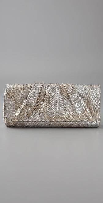 Lauren Merkin Handbags Caroline Snake Clutch