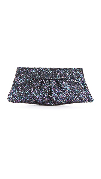 Lauren Merkin Handbags Eve Glitter Encrusted Clutch