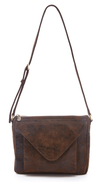 Lauren Merkin Handbags Simone Distressed Bag