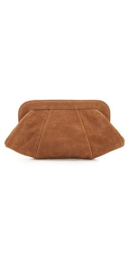 Lauren Merkin Handbags Tatum Croc Stamp Clutch