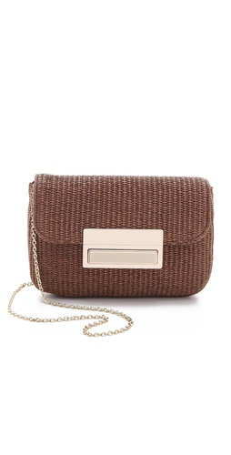Lauren Merkin Handbags Iris Raffia Clutch at Shopbop.com