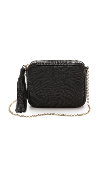Lauren Merkin Handbags Snake Embossed Meg Cross Body Bag