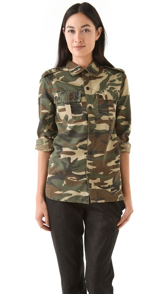 Laurence Dolige Soldat Cotton Shirt