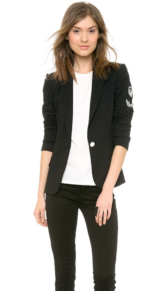 LAVEER Revelry Blazer with Patches