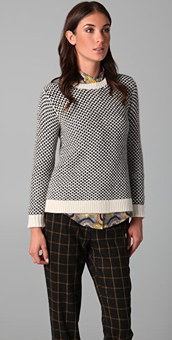 Lyn Devon Chunky Swing Sweater