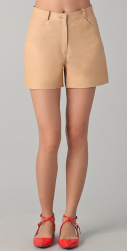 Shop Lyn Devon City Leather Shorts and Lyn Devon online - Apparel,Womens,Bottoms,Shorts, online Store