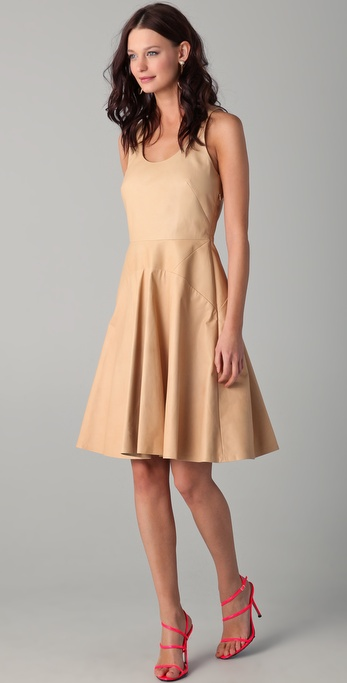 Lyn Devon Leather Swim Morris Dress