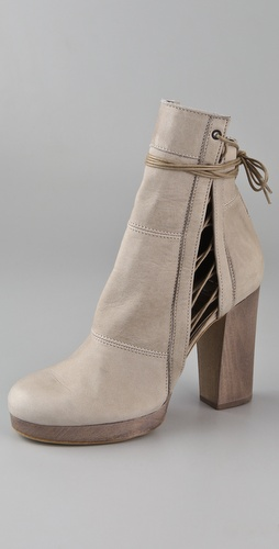 LD Tuttle The Curl Platform Booties