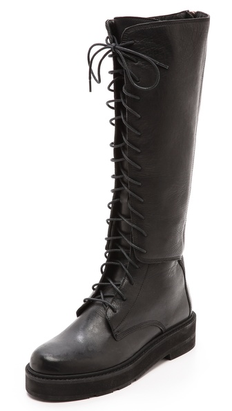 LD Tuttle The Stab Lace Up Combat Boots
