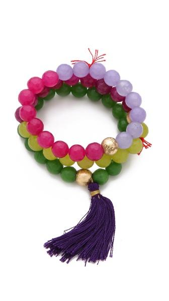 Lead Colorblock Bracelet Set