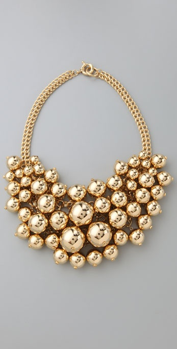 Lee Angel Jewelry Jen Bib Necklace