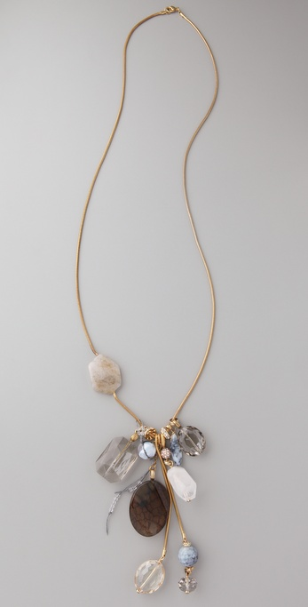 Lee Angel Jewelry Dakota Natural Fringe Necklace