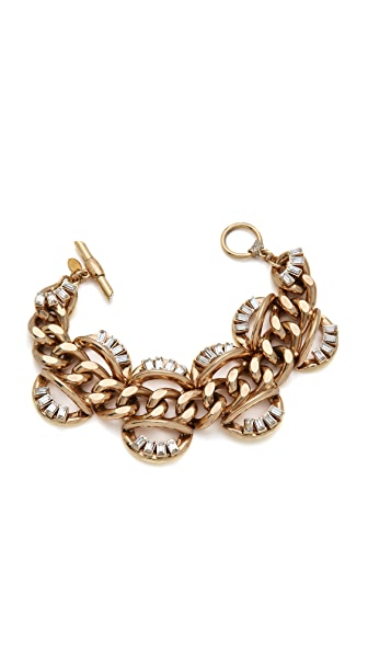Lee Angel Jewelry Baguette Statement Bracelet