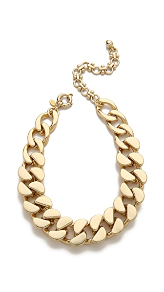 Lee Angel Jewelry Curb Chain Necklace