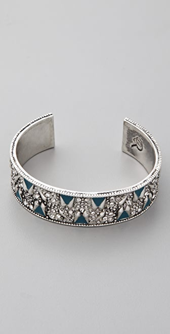 Rachel Leigh Jewelry Adorned Pave Cuff