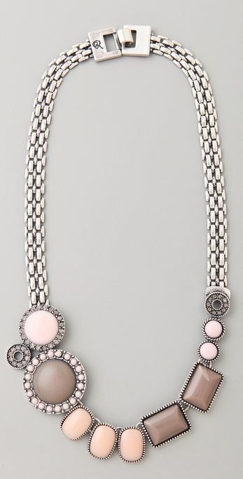 Rachel Leigh Jewelry Brit Stone Layer Necklace
