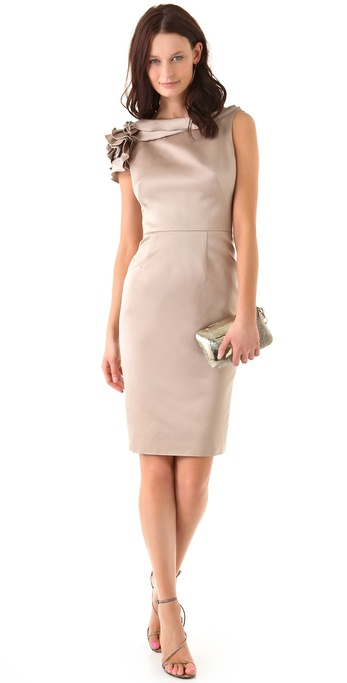 Lela Rose Rose Sheath Dress