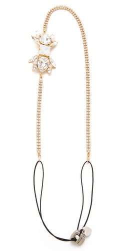 LELET NY Charlotte Swarovski Crystal Headband at Shopbop / East Dane