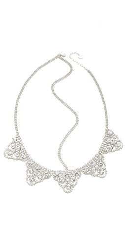 LELET NY Lattice Lace Crystal Headband at Shopbop / East Dane