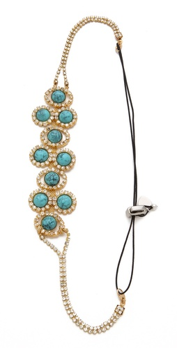 LELET NY Lena Cabochon & Crystal Headband at Shopbop / East Dane