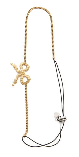 LELET NY Bow & Chain Headband at Shopbop / East Dane