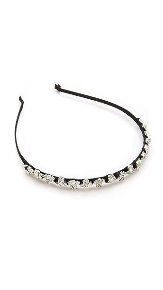LELET NY Semicircle Crystal Headband