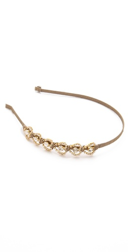 LELET NY Heartbreak Crystal Headband at Shopbop / East Dane