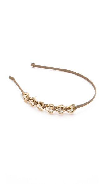 LELET NY Heartbreak Crystal Headband