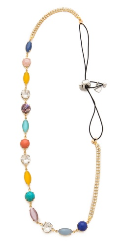LELET NY Boho Crystal & Cab Headband at Shopbop / East Dane