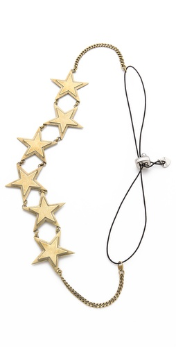 LELET NY Star Power Chain Headband at Shopbop / East Dane
